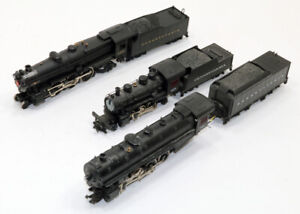 Lot of (2) Mantua (1) Bachmann PRR Steam Locos FOR PARTS ONLY - Not RUNNING  HO