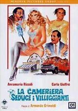 Dvd LA CAMERIERA SEDUCE I VILLEGGIANTI ***  Carlo Giuffre' ***  ....NUOVO