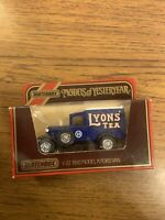 MATCHBOX MODELS OF YESTERYEAR Y-22 1930 FORD MODEL A LYONS TEA VAN