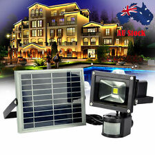 10W/20W LED Outdoor Floodlight PIR Motion Sensor Security Garden Flood Light AU