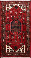 Geometric Hamedan Nomadic Hand-knotted Area Rug Home Decor Oriental Carpet 3'x6'