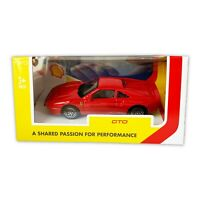 Burago 1 43 scale model Ferrari GTO 288 Shell diecast toy car collector red