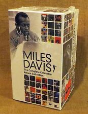NEW  Miles Davis Complete Columbia  album Collection -  Box Set (70 CDs + DVD)