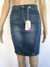 NWTS Sz 9 Jrs SUGAR MAGNOLIA Lighter Weight Stretch Denim Jean Pencil Skirt