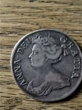 More details for 1712 queen anne halfcrown, esc 582.