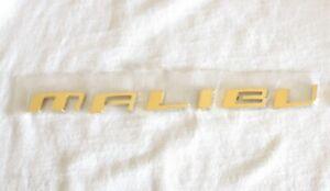 "2004 - 2008 CHEVROLET ""MALIBU"" 24K GOLD PLATED REAR EMBLEM LETTERS - 22674239"
