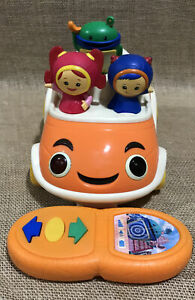Team Umizoomi Come & Get Us Counting UmiCar w/Remote Fisher Price Nick Jr