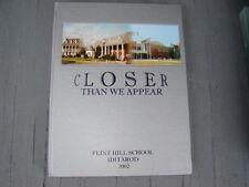 "2002 Flint Hill High School Yearbook Oakton Virginia ""Iditarod"""