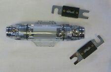 ANL-Sicherungshalter für 50mm² Kabel  + 2x-150 A Sicherungen Platin-Design