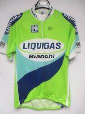 Maillot LIQUIGAS BIANCHI UCI Pro Tour 2005 shirt trikot CARLSTRÖM GASPAROTTO XL