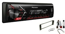 Pioneer mvh-s300bt USB BLUETOOTH MP3 RDS AUX Set d'installation pour Audi A3 (8L