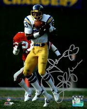 Chargers Receiver JOHN JEFFERSON Signed 8x10 Photo #2 AUTO - 3 x All Pro