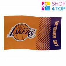 3ba1dac7f28 Los Angeles Lakers Official American Basketball Team NBA Large Flag Room  Match