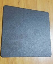 20 Pcs Drink Cardboard Coaster - 9.5 Cm × 9.5 Cm - Black Color - Party Supply