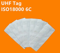 ISO18000 6C EPC Gen2 Vehicle Windshield UHF RFID tag for Car Parking -100pcs