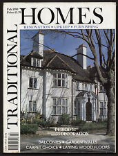 TRADITIONAL HOMES magazine February 1990