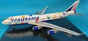 InFlight200 Boeing 747-400 Transaero Ei-Xlk' Flight Von Hope' (mit Ständer)