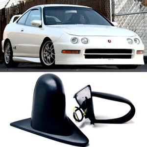For 94-01 Integra 2DR Pair Powered Adjustable Spoon Style JDM Side View Mirror