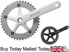 "SR Suntour 42 Tooth Single Speed Chainset 3/32"" Crankset 170 175 &Bottom Bracket"