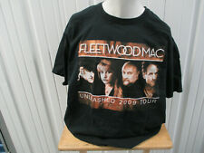 Vintage Russell Athletic Fleetwood Mac Unleased 2009 Tour W/ Dates Xl T-Shirt