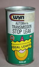 VINTAGE - WYNN'S - AUTOMATIC  TRANSMISSION - STOP-LEAK - TIN/CAN -  FULL 325ML
