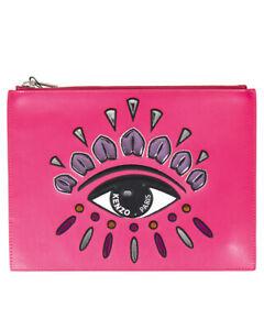 Borsa Pochette Kenzo Bag EYE CLUTCH Donna Rosa F852SA607L22 26 Tg. U