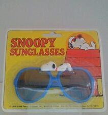 Vintage Peanuts Snoopy Sunglases New In Card