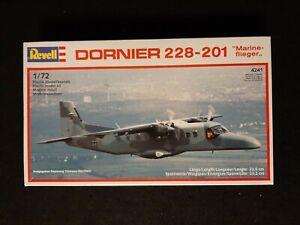 1988 Revell Dornier 228-201 Marine flieger Aircraft Model Plane Kit 1:72