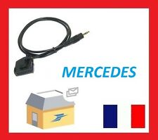 AUX IN Câble Adaptateur Mercedes Comand 2.0 iPhone iPod MP3 3 Interface