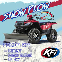 "New KFI 54"" Pro Series Snow Plow & Mount - 2002-2004 Can-Am Quest 650 ATV"