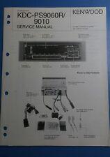 Kenwood KDC-PS9060R/900 service manual.