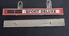 GM Pontiac 1965, 1966/67 Acadian, canso sport deluxe Trunk emblem