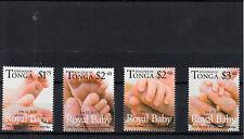 Tonga 2013 MNH Royal Baby 4v Set Birth Prince George William Kate Duke Cambridge