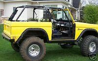 Rear Roll Bar Kit 66-77 Bronco Roll Cage