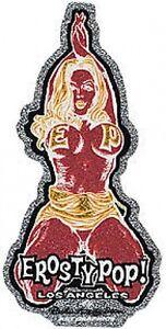 Erosty Pop! Girl Sticker Decal Rockin Jelly Bean R7Red