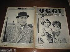 RIVISTA OGGI 1961/51=GINA LOLLOBRIGIDA=ALBERTO SORDI=LEO VALA= MINDSZENTY GIUSEP