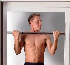 Golds Gym Chin pull up bar chinning regolabile telescopico cromato porta esercizio