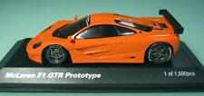 McLaren F1 GTR PROTOTYPE ORANGE 1:43 MINICHAMPS WORLD SPECIAL