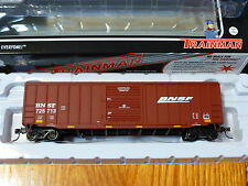 "Atlas HO #20002574  Trainman BNSF ACF 50' 6"" Box Car (Rd #725713)"