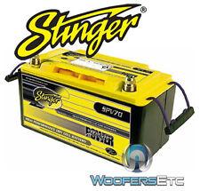 SPV70 STINGER PRO CAR AUDIO DRY CELL YELLOW TOP 1050 AMP TRUCK VAN BATTERY NEW