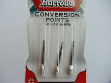 HARROWS Conversion Points- aluminium Converts soft-tip to steeltip- FREE UK POST
