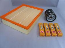 Vauxhall Zafira 1.8 Petrol Service Kit Oil + Air Filter Spark Plugs 99-05 OPT2