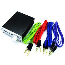 NEW Headphone 3.5mm MP3 Audio Signal Switcher Multi-CH XI 4 Input 4 Output