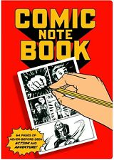 Comic Book NoteBook Large Version with Panels For Drafts and Drawings NEW UNUSED