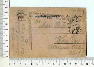 24795 Austria Hungary 28 1 1916 Feldpost PC Budapest