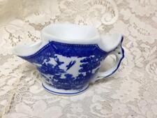 Vintage, Rare Blue Willow, Shaving Mug 7.5in x 4in x 3in