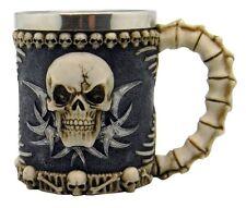 Medieval Skull & Bone Spine - Tankard/Mug
