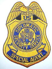 DIPLOMATIC SECURITY SERVICE SPECIAL AGENT POLICE PATCH