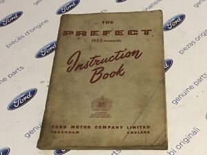 Ford Prefect instruction book