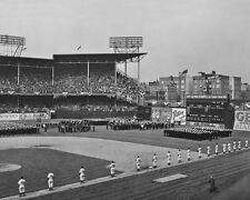 1942 Brooklyn Dodgers EBBETS FIELD Glossy 8x10 Photo Print War Bond Rally Poster